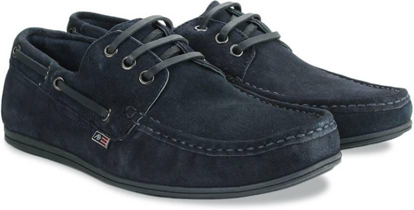 Arrow Casual Lace Up Boat shoes