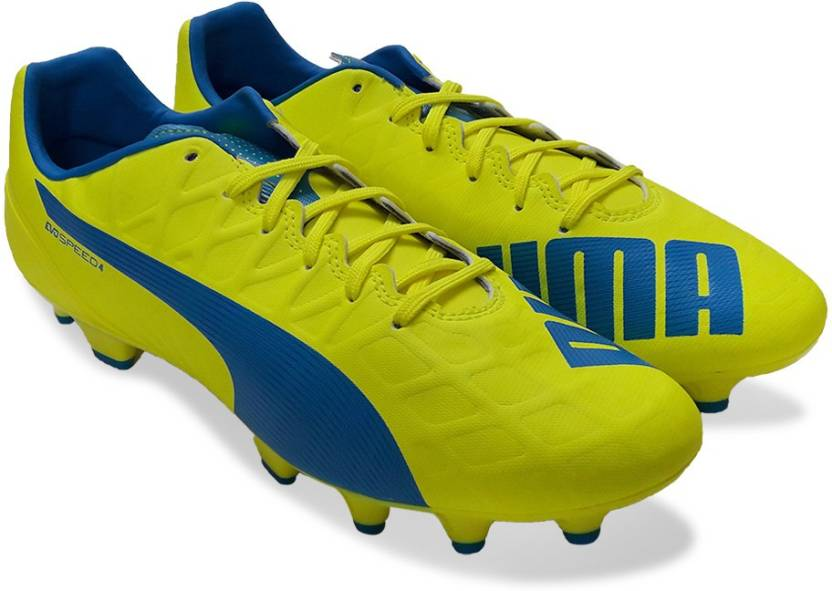 Puma evoSPEED 4.4 FG Football Shoes For Men - Buy safety yellow ... 8bca0f7eb