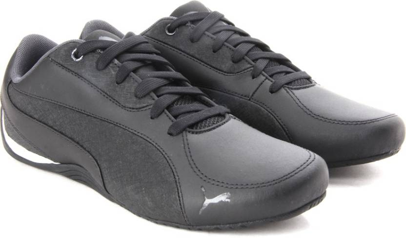 Puma Drift Cat 5 LEA Men Sneakers For Men - Buy black-asphalt Color ... 98f96e0839698