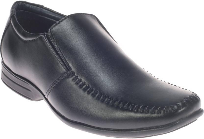 f90883b57df Khadim s Khadims Slip On For Men - Buy Black Color Khadim s Khadims ...