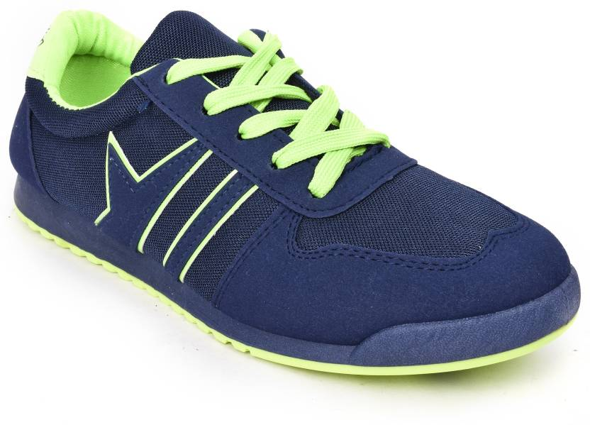 bed60086f42 Action Shoes KMP-722-Navy-Green Running Shoes For Men - Buy KMP-722 ...