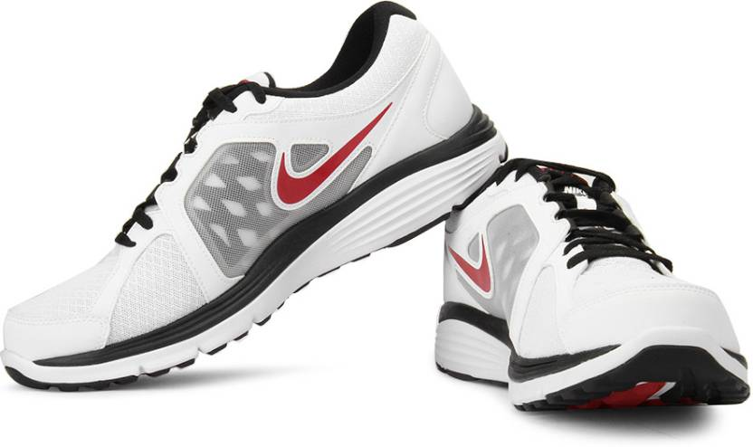 Nike Dual Fusion Run Msl Running Shoes For Men - Buy White aabf9da0c