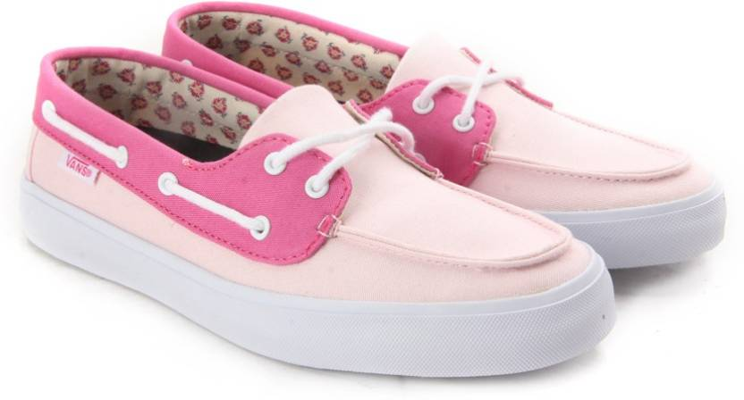 Vans CHAUFFETTE SF Boat Shoes For Women - Buy (Two Tone) barely pink ... 9ebd9e75b