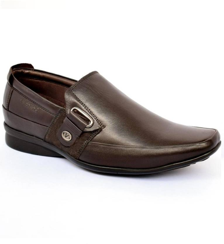 135ec558a4f89 Valentino Signature Slip On For Men - Buy Brown Color Valentino ...