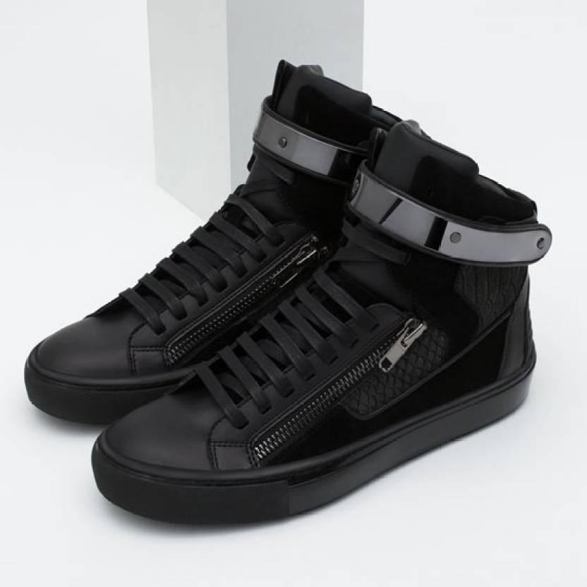 b64e5625 Shihibas Zara Sneakers For Men - Buy Black Color Shihibas Zara ...