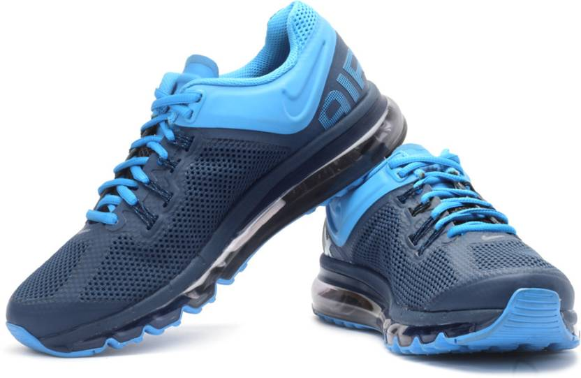 timeless design 35cc3 df6e8 Nike Air Max 2013 Running Shoes For Men (Navy, Blue, Silver)