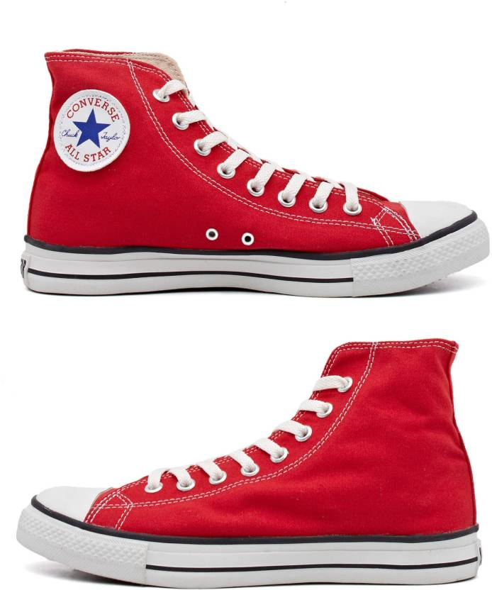 d51499cbd6bf Converse Uptown High Tops Canvas Shoes For Men - Buy Red Color ...