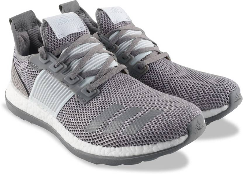 best loved 39672 d5975 ADIDAS PUREBOOST ZG M Running Shoes For Men (Silver)