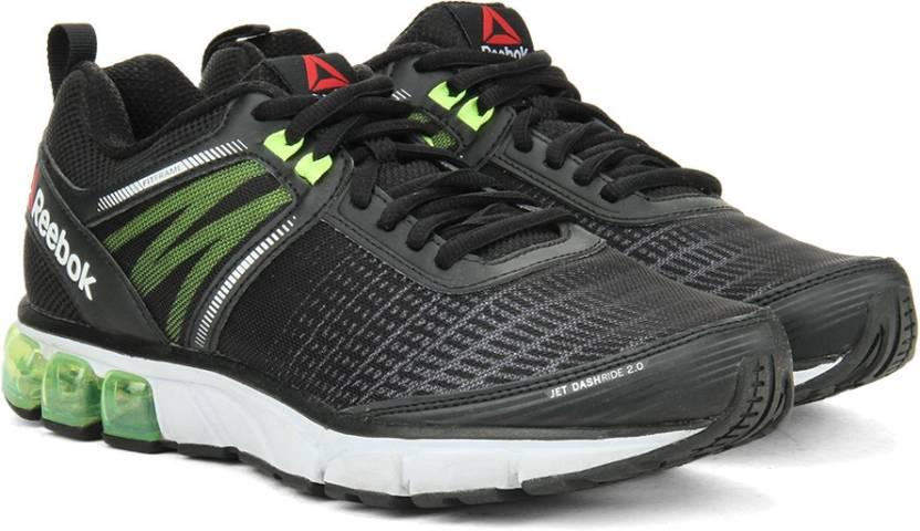 376b35ab96e5 REEBOK JET DASHRIDE 2.0 Men Running Shoes For Men - Buy BLACK WHITE ...