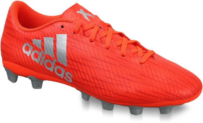ADIDAS X 16.4 FXG Football Shoes For Men - Buy solar red ftwr white ... 425fd1f0eb1f