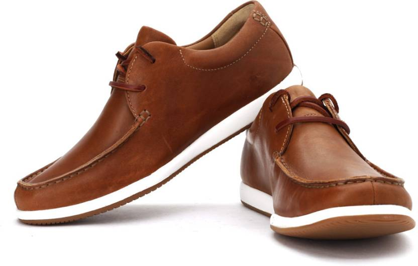 58bfd8bbb55f0a Clarks Newton Energy Boat Shoes For Men - Buy Mahogany Leather Color ...