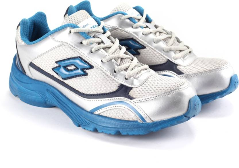 Minimum 50% Off on Puma, UCB & more By Flipkart | Lotto Running Shoes  (Blue, Silver) @ Rs.799