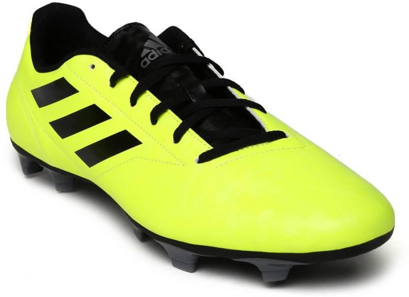 half off 637ba 74129 ADIDAS CONQUISTO II FG Football Shoes For Men (Green)