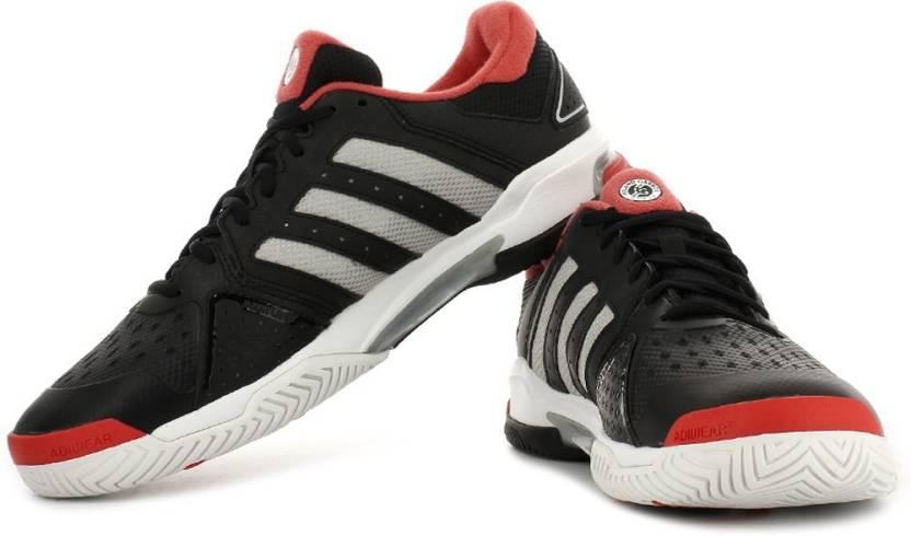 adidas barricata squadra 4, scarpe da tennis per gli uomini comprano cblack silvmt