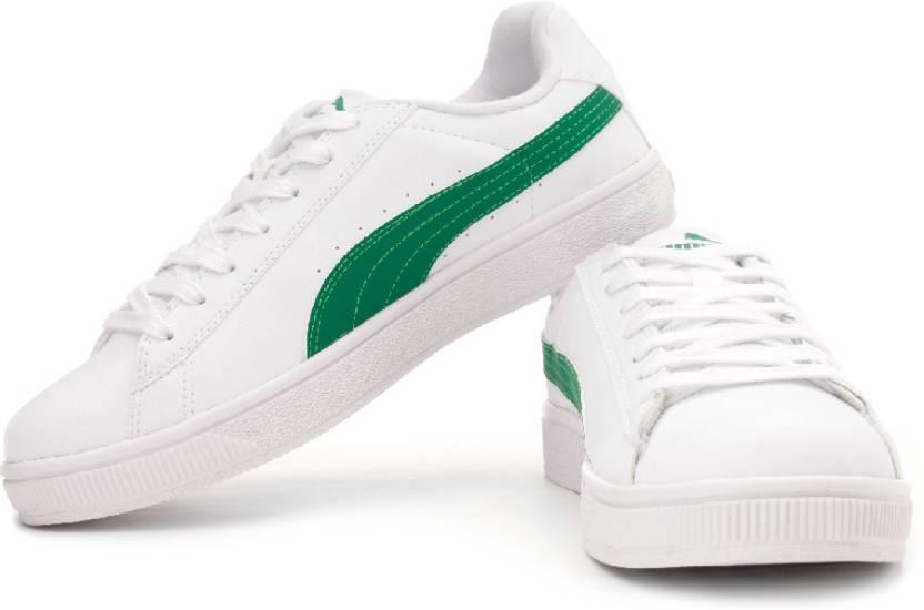 7659bd7b896 Puma Basket II Low Rider Basketball Shoes For Men - Buy White