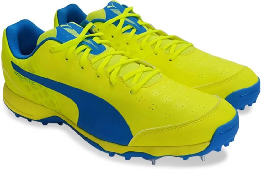 Puma evoSPEED Cricket Spike 1.4 Cricket Shoes For Men - Buy safety ... bf06e17b8