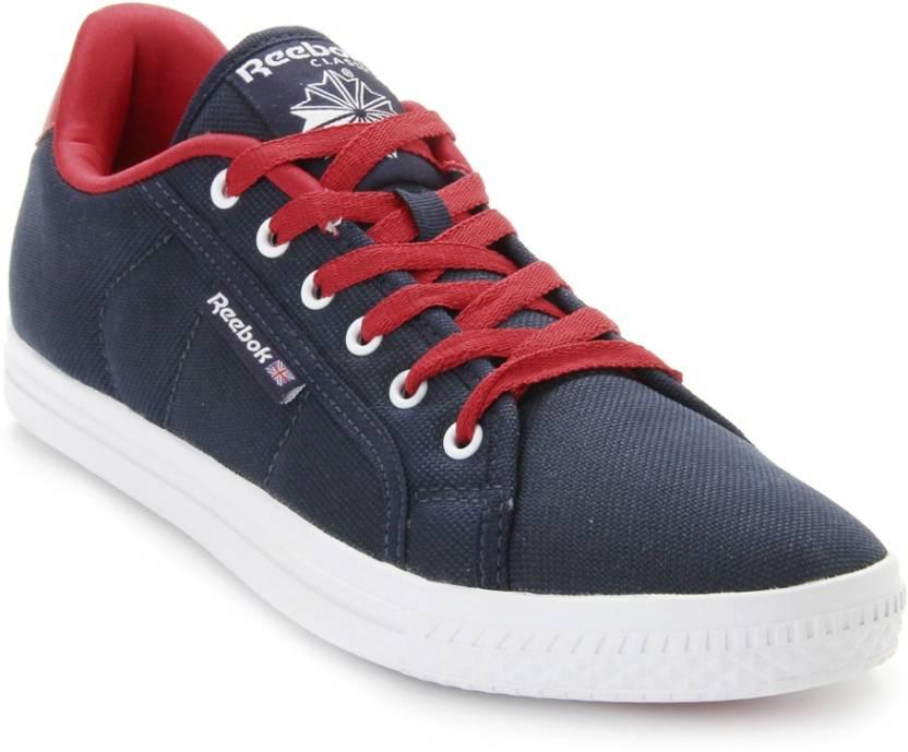 07975df5dddf REEBOK On Court Iv Lp Canvas Shoes For Men - Buy Reebok Navy