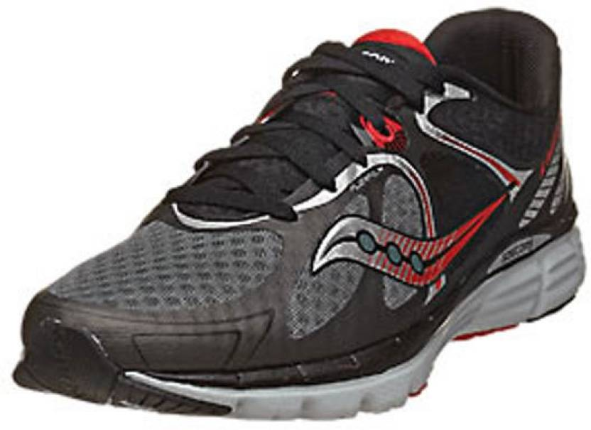 6e14cf60721f Saucony Kinvara 6 Men s Running Shoes For Men - Buy Black-Grey-Red ...