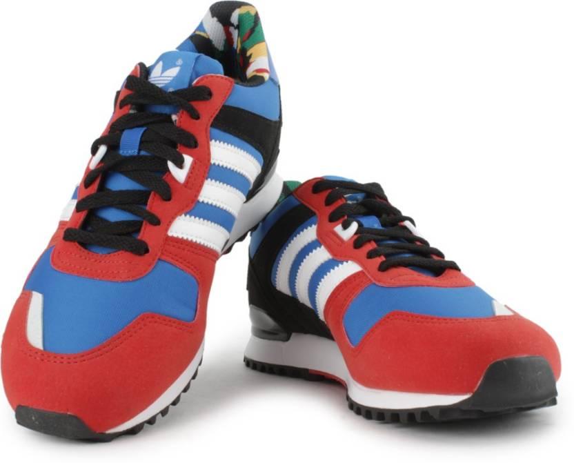 adidas ZX 700 shoes black blue