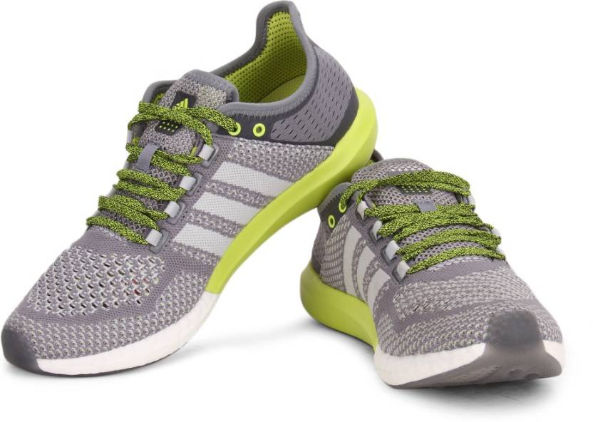 sports shoes f7327 600ce ADIDAS CC COSMIC BOOST M Running Shoes For Men (Black, Green, White)
