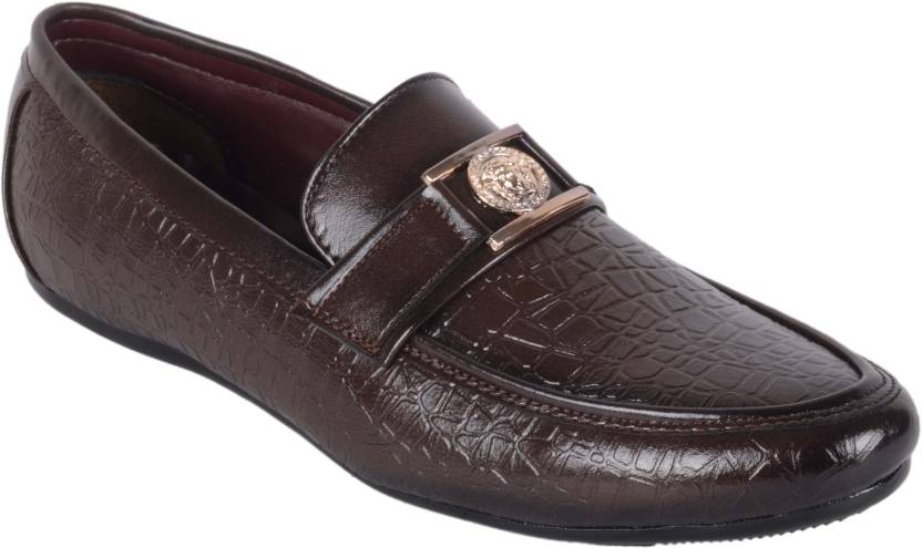 1AAROW Brown Loafers discount top quality cPziIMMLZ4