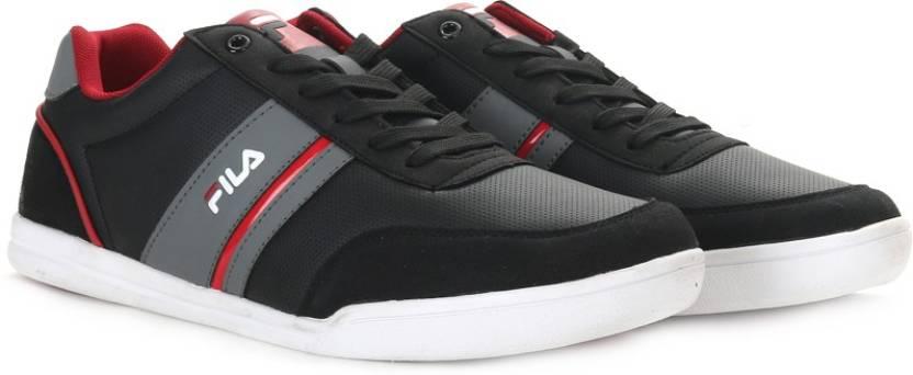 cf648cc296e6 Fila NOFRI Sneakers For Men - Buy BLK RD Color Fila NOFRI Sneakers ...