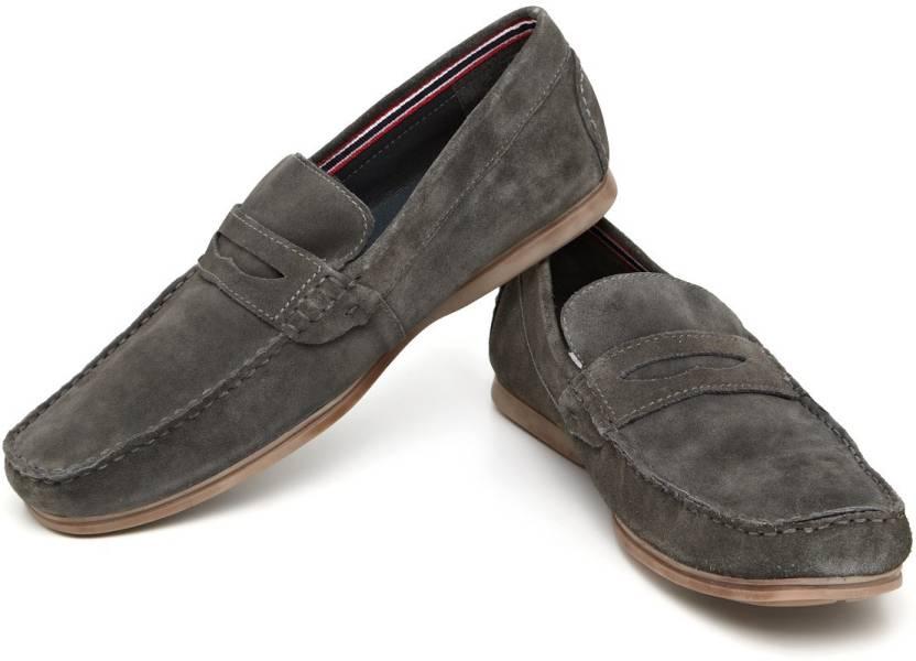ae3bb3d92f0 Arrow Penny In Suede-Dark Grey-42 Loafers For Men - Buy Dark Grey ...