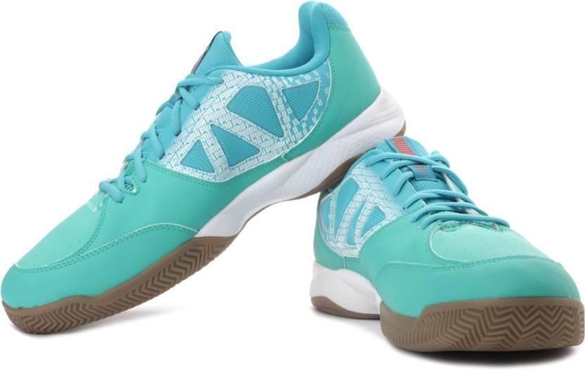 65916c0f615 Puma evoSPEED Indoor 5.3 Indoor Shoes For Men - Buy Pool Green ...