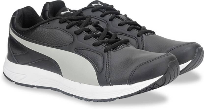 b43d568aaf92 Puma Axis v4 SL IDP Running Shoes For Men - Buy Puma Black-Drizzle ...