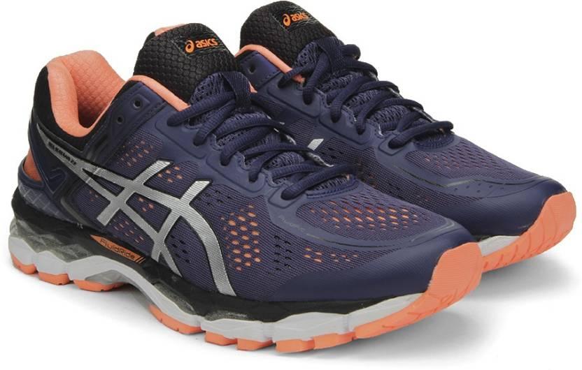 best sneakers d2475 19b93 Asics GEL-KAYANO 22 (2E) Running Shoes For Men (Purple)