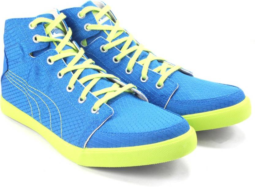 7b69ffb5f605 Puma Drongos DP Mid Ankle Canvas Sneakers For Men - Buy princess ...