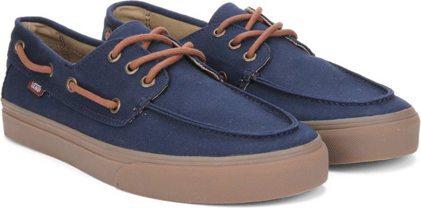 b36f56e9f2cff6 Vans Chauffeur SF Boat shoes For Men - Buy Blue Color Vans Chauffeur ...