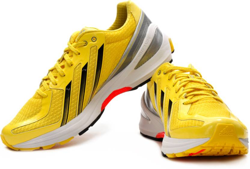 various colors 03d30 0a681 ADIDAS Adizero F50 Runner 3 Running Shoes For Men (Yellow)