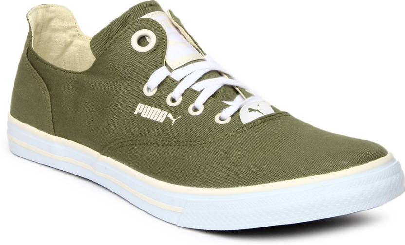 Puma Casual Shoes For Men - Buy Green Color Puma Casual Shoes For ... 3055c2601b09