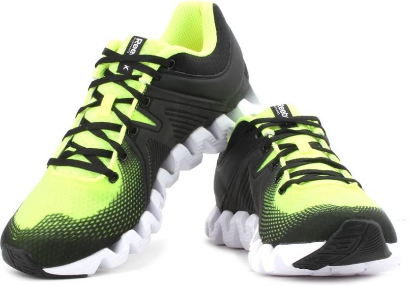 361bcb660 correr Rush Solar Zapatos para Squared Zig para REEBOK hombre Negro q7vXAw