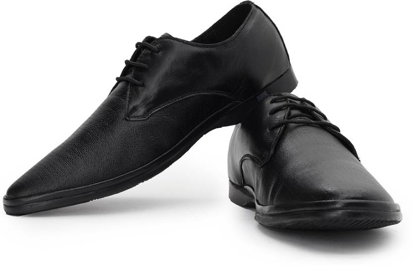 Lee Cooper Men Genuine Leather Lace Up Shoes