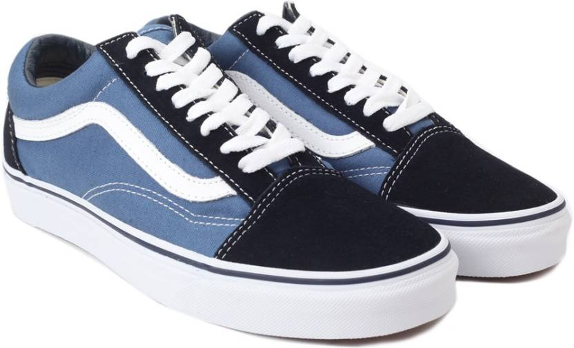 1c8be008a116 Vans Old Skool Sneakers For Men - Buy Blue Color Vans Old Skool ...