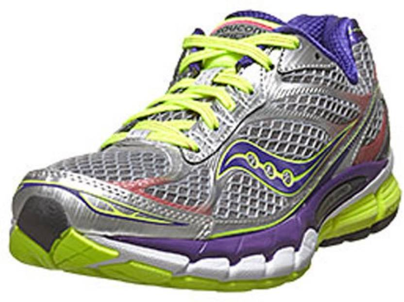 6efb38994ddd Saucony Ride 7 Running Shoes For Women - Buy Silver -Purple -Citron ...