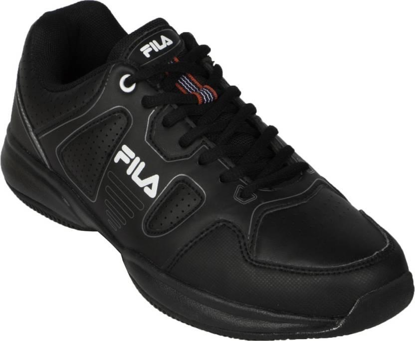 02addb00f Fila Lugano 4.0 Tennis Shoes For Men - Buy Black Color Fila Lugano ...