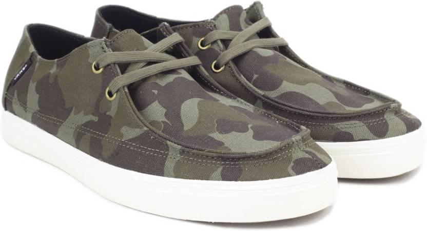 Vans Rata Vulc SF Sneakers For Men - Buy Green Color Vans Rata Vulc ... cd6b28c91