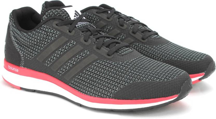 ADIDAS LIGHTSTER BOUNCE M Running Shoes For Men - Buy CBLACK SILVMT ... bfd935963