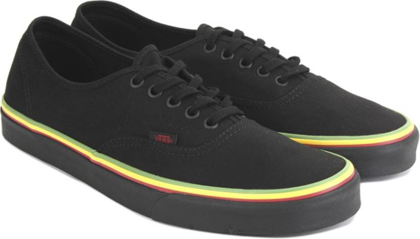 223c94e782e530 Vans Authentic Sneakers For Men - Buy (Rasta) black black Color Vans ...