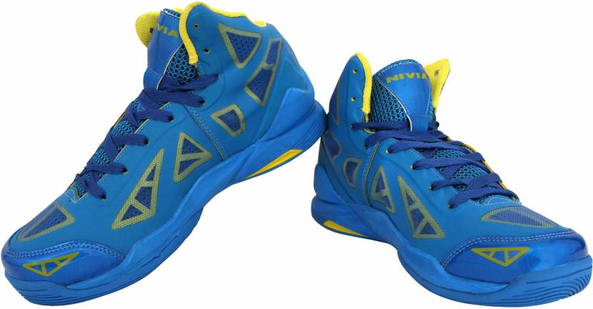 a9f5a96bda7e Nivia Typhoon Basketball Shoes For Men - Buy A.Blue