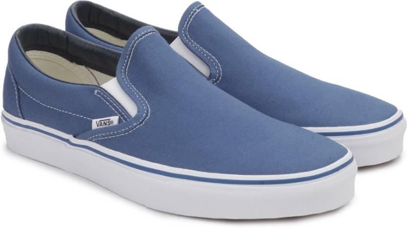 On Slip Vans Loafers Classic Buy Color Navy Men For Ov8w0mNn