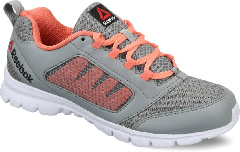 a1ee7f0fa819 REEBOK RUN STORMER Running Shoes For Women - Buy FLAT GREY CORAL ...