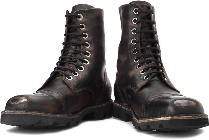 f585e495625 Diesel Hardkor Steel Boots For Men