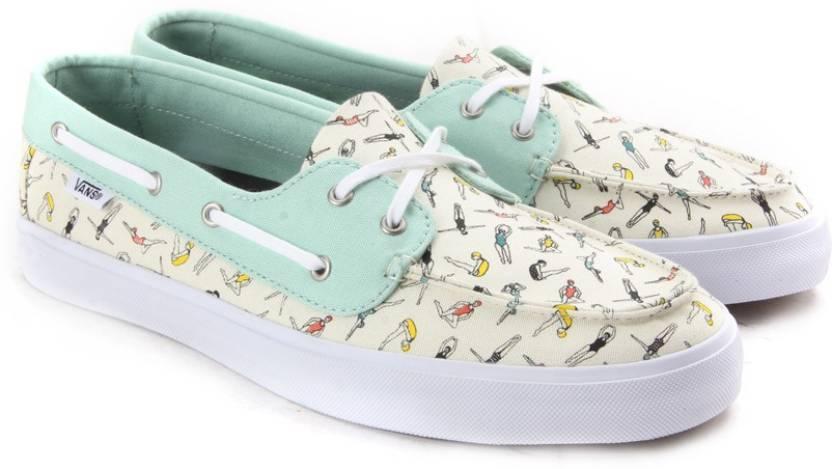 ffbe722e42466d Vans CHAUFFETTE SF Boat Shoes For Women - Buy (Swimmers) gossamer ...