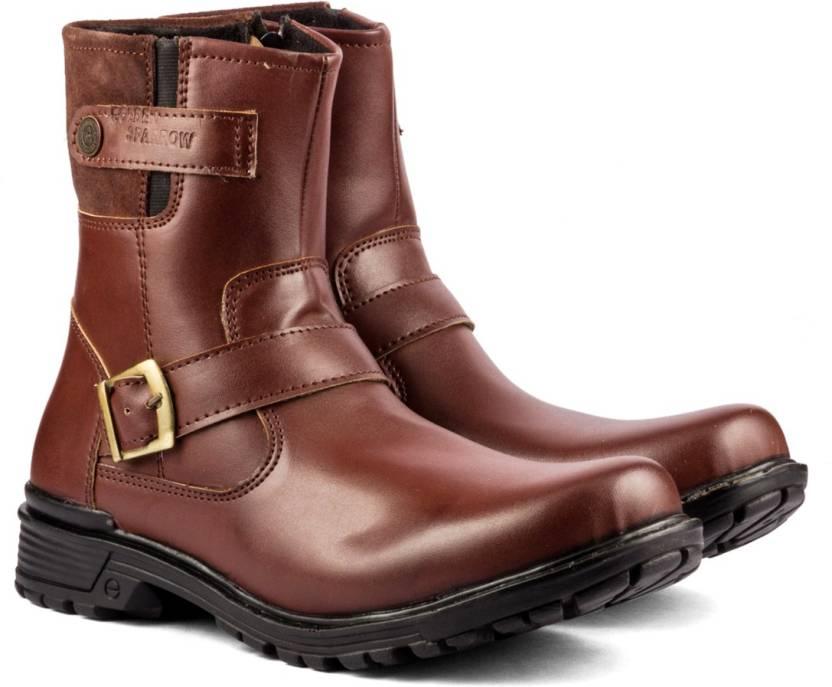 915525af0ef8 GS Mens High Ankle Boots For Men - Buy Brown Color GS Mens High ...
