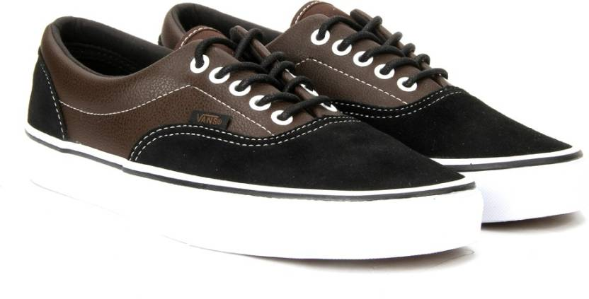 Vans ERA Sneakers For Men - Buy (SUEDE   LEATHER) DEMITASSE BLACK ... f16d323e1