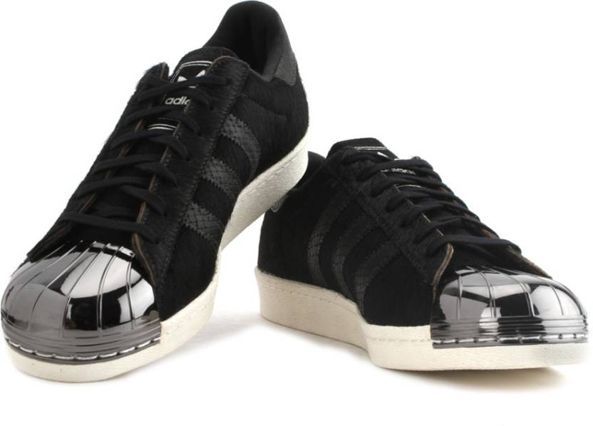 1ee70892794f ADIDAS SUPERSTAR 80S METAL TOE Sneakers For Men (Black). Price  Not  Available
